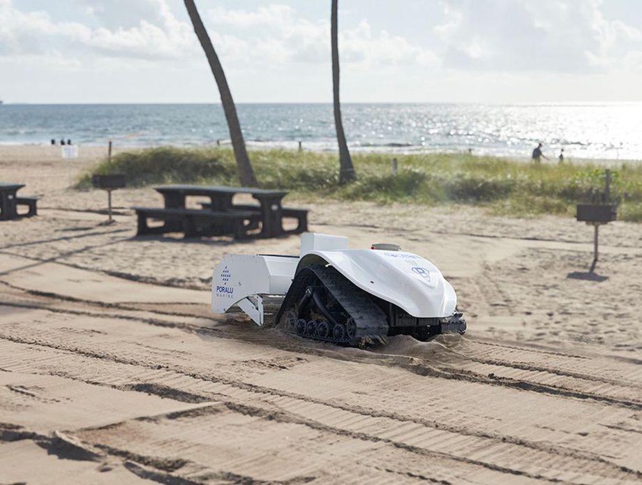 Čistač plaže BeBot