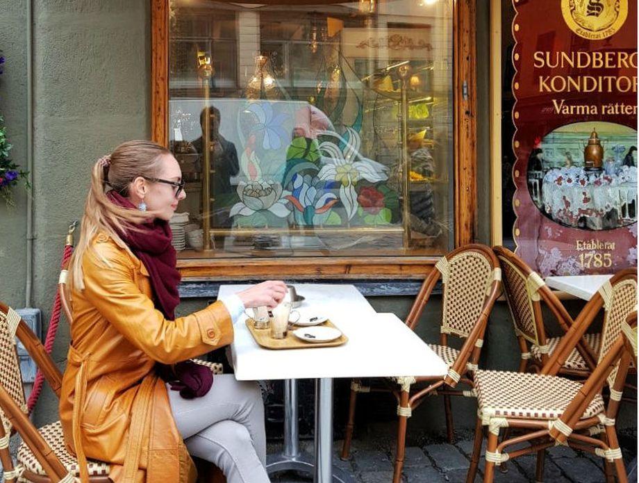 Valentina u Stockholmu