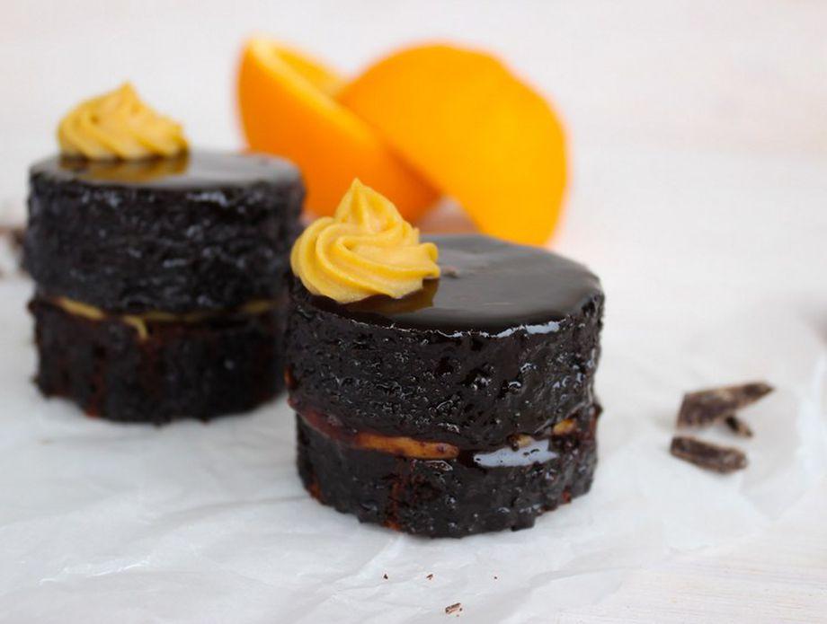 Čokoladne mini tortice