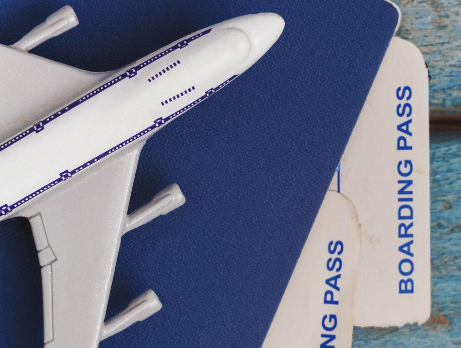Avionske karte, ilustracija