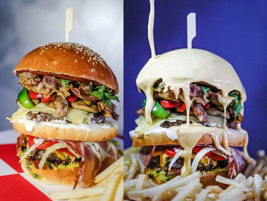 Burger Euro 2020 Instafooda iz Zagreba