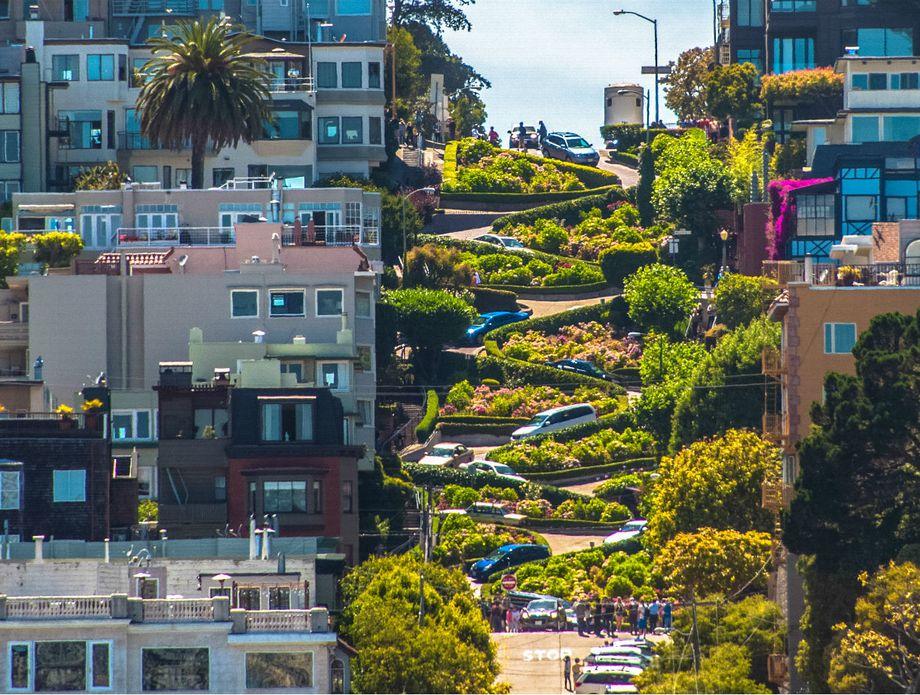Ulica Lombard u San Francisku - 2