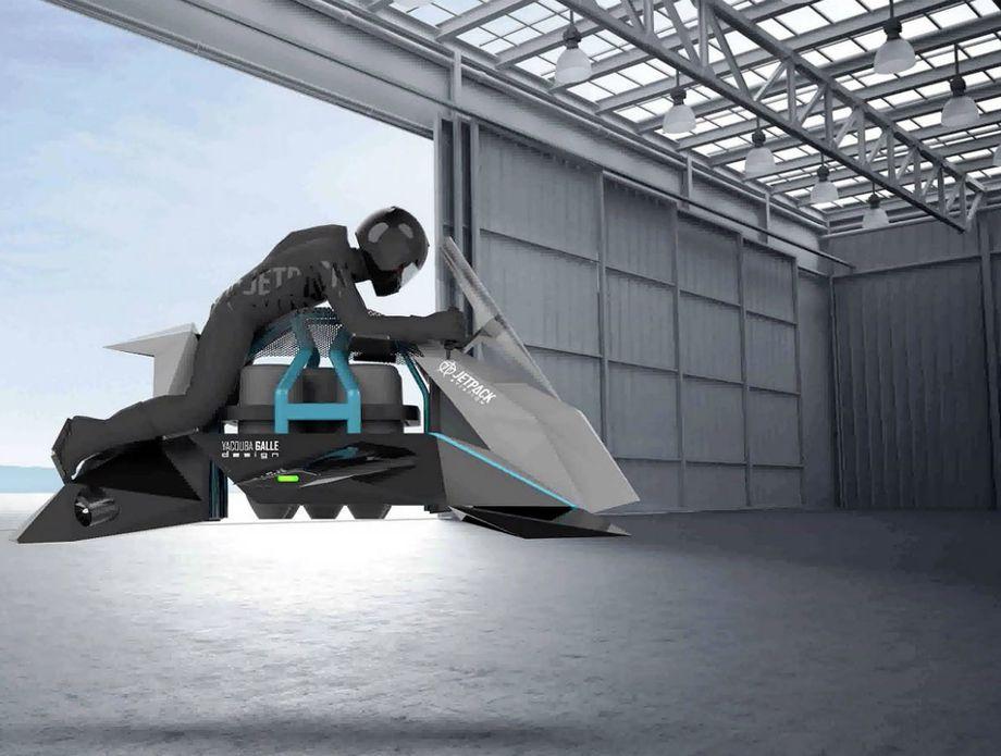 The Speeder leteći motor - 3