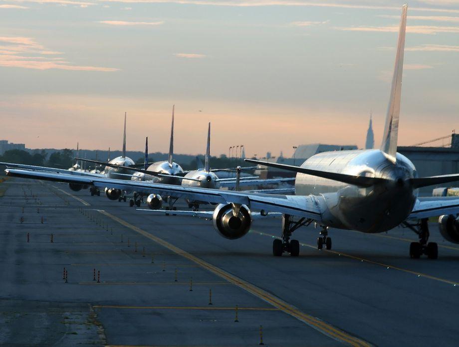 Aerodrom, ilustracija
