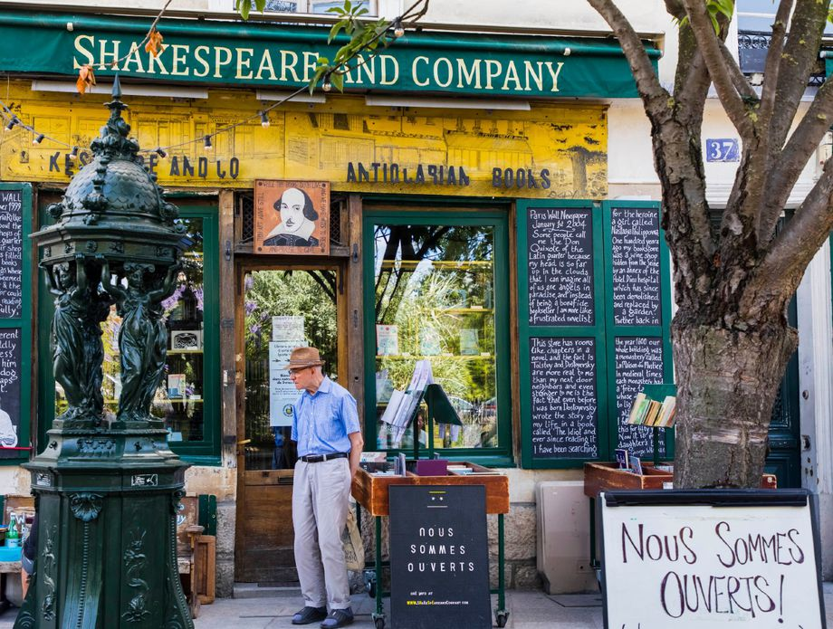 Knjižara Shakespeare and Company, Pariz - 2