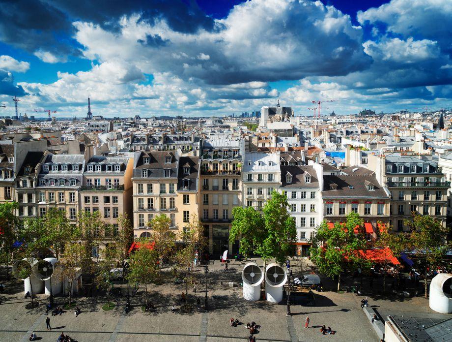Georges Pompidou trg u Parizu