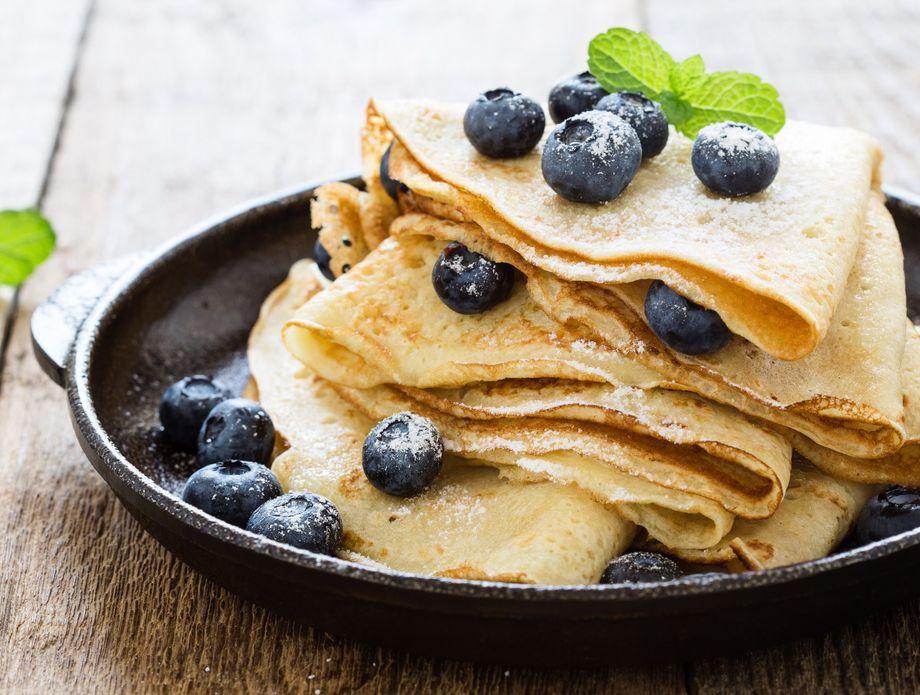 Fine palačinke mogu se ispeći i bez jaja i mlijeka