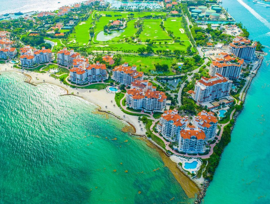 Otok Fisher, Miami, SAD - 1