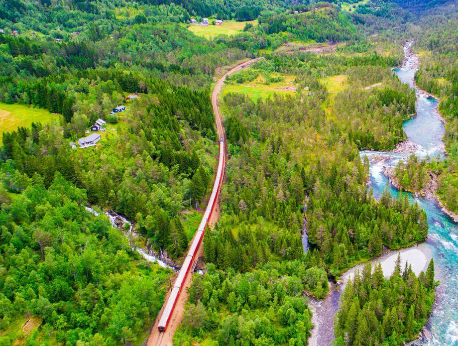 Vlak Oslo – Bergen - 2