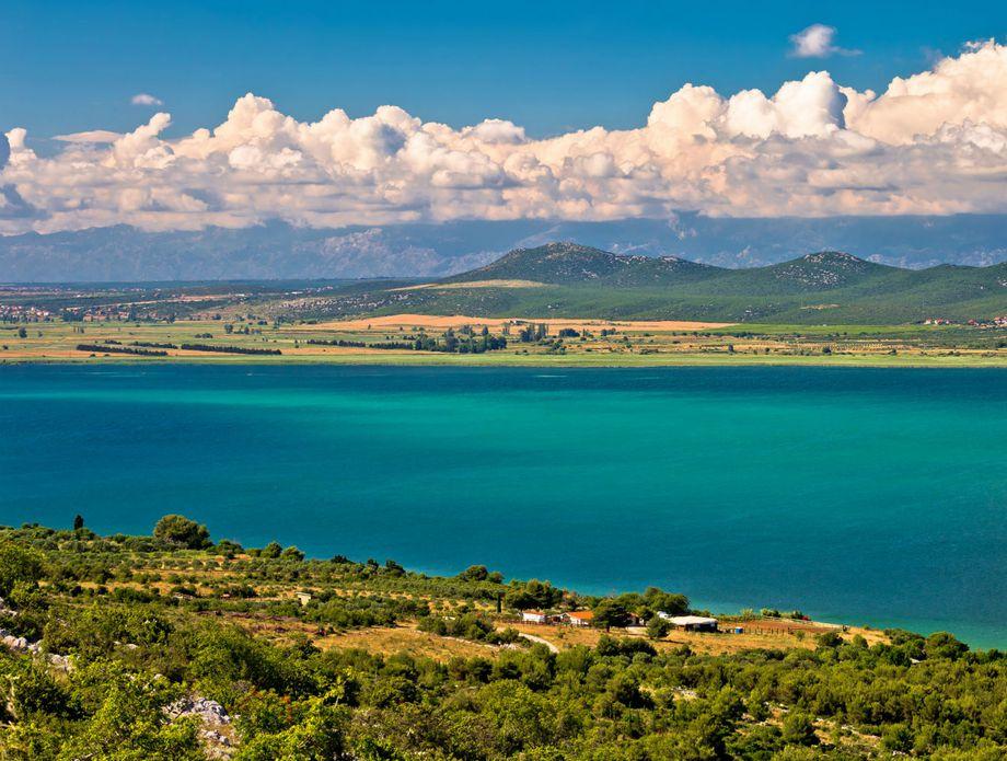 Vransko jezero, Hrvatska