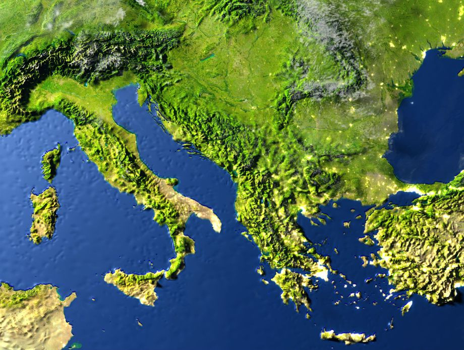 Velika Adrija skriva se ispod jugoistočne Europe