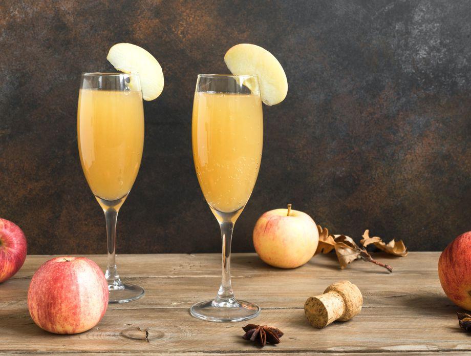 Mimoza sa ciderom od jabuke