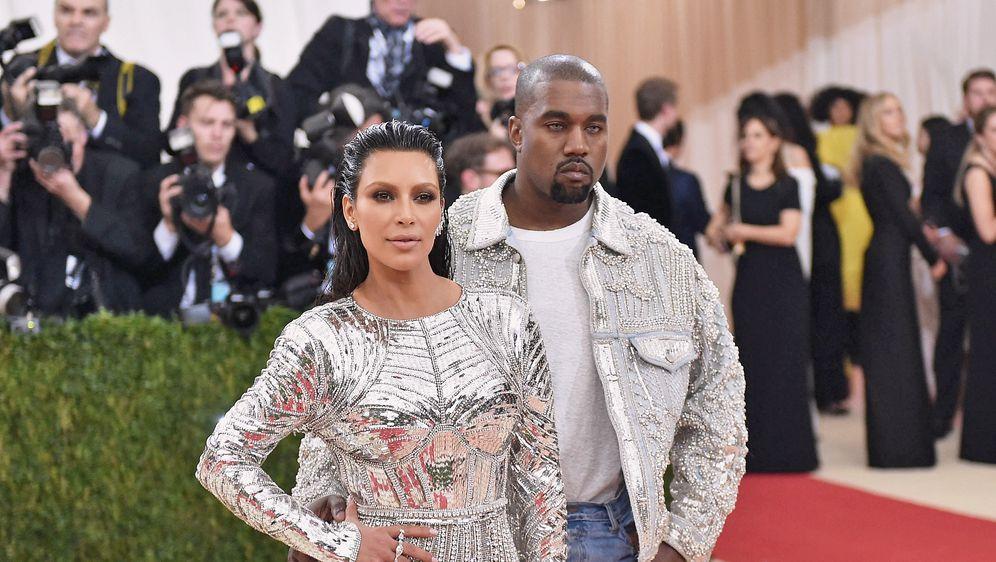 Kim Kardashian, Kanye West (Foto: Getty Images)