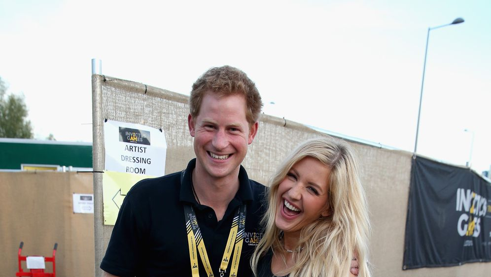 Ellie Goulding i Princ Harry (FOTO: Getty)