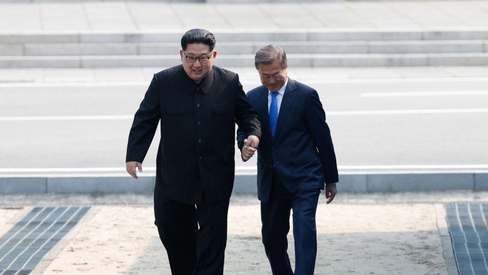 Kim Jong Un i Moon Jae In (Foto: Getty Images)