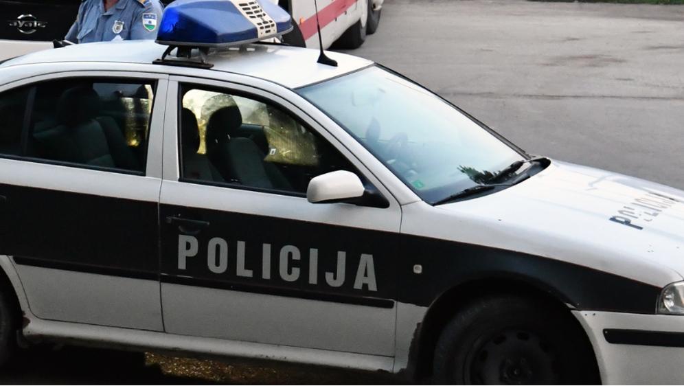 BiH policija, ilustracija (Foto: ELVIS BARUKCIC / AFP)