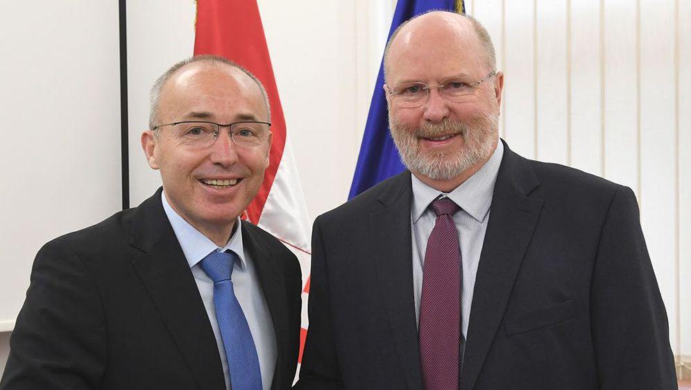 Krstičević i Kohorst (Foto: MORH)