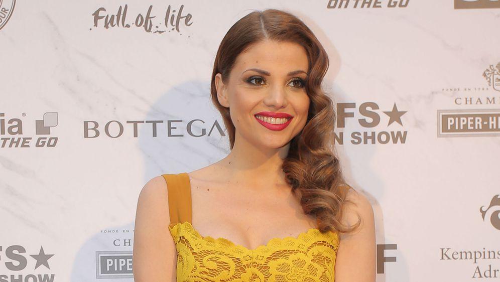 Lejla Filipović na modnoj reviji dizajnerskog dvojca Elfs