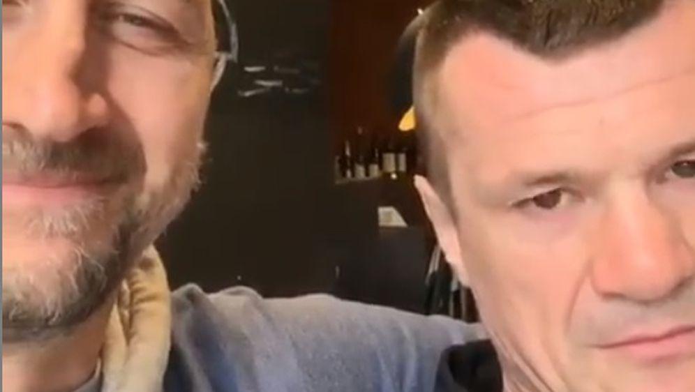 Dino Rađa i Mirko Filipović (Foto: Instagram)