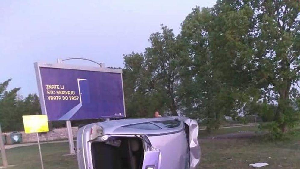 Prometna nesreća u Umagu (Foto: Facebook/Vatrogasci Umag)