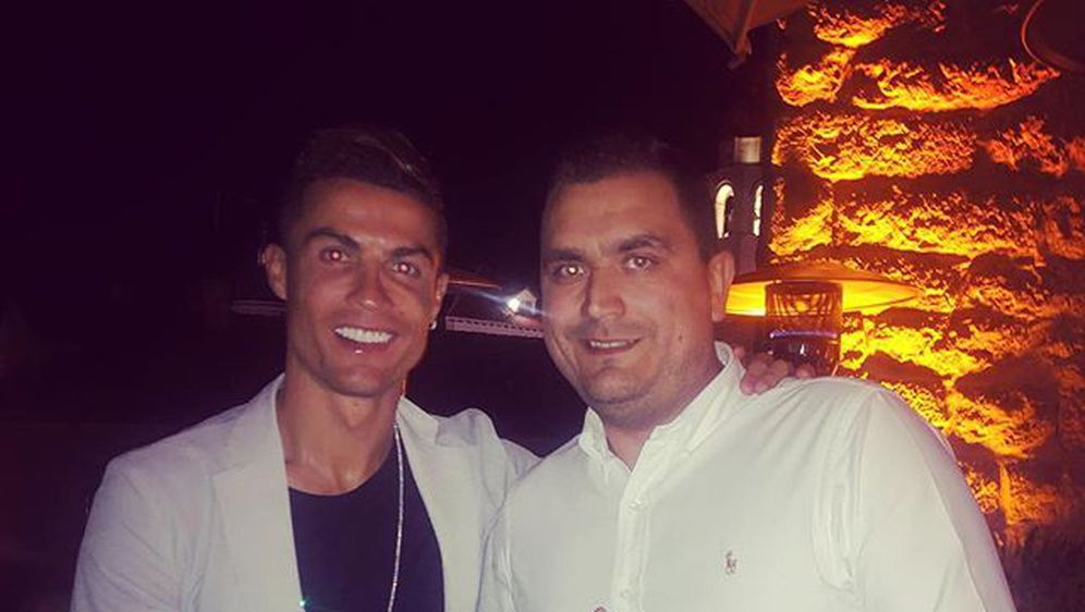Miho Obradović i Ronaldo (Foto: Instagram)