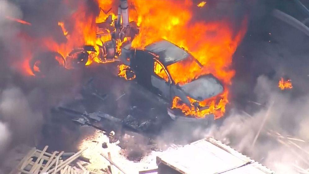 Stravična nesreća u SAD-u (Screenshot: Reuters)1
