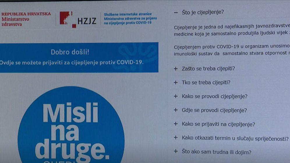 Portal za cijepljenje Cijepise - 2
