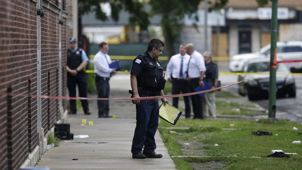 Pucnjava u Chicagu (Foto: AFP)