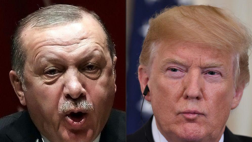 Ilustracija Erdogan i Trump (Foto: AFP)