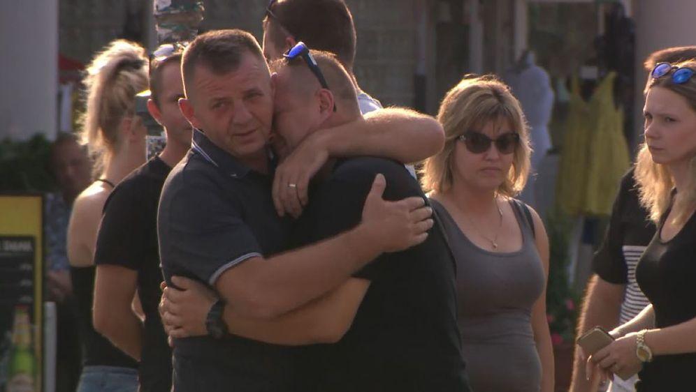 Dubravko Ružić, otac preminulog Mattea Ružića, na prosvjedu u Zaprešiću koji je organiziran za Mattea (Foto: Dnevnik.hr)