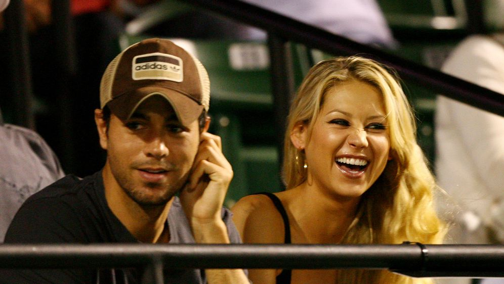 Enrique Iglesias i Anna Kournikova (Foto: Getty Images)