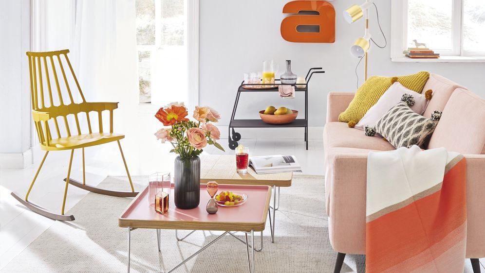 Ideje za uređenje doma u toplim bojama