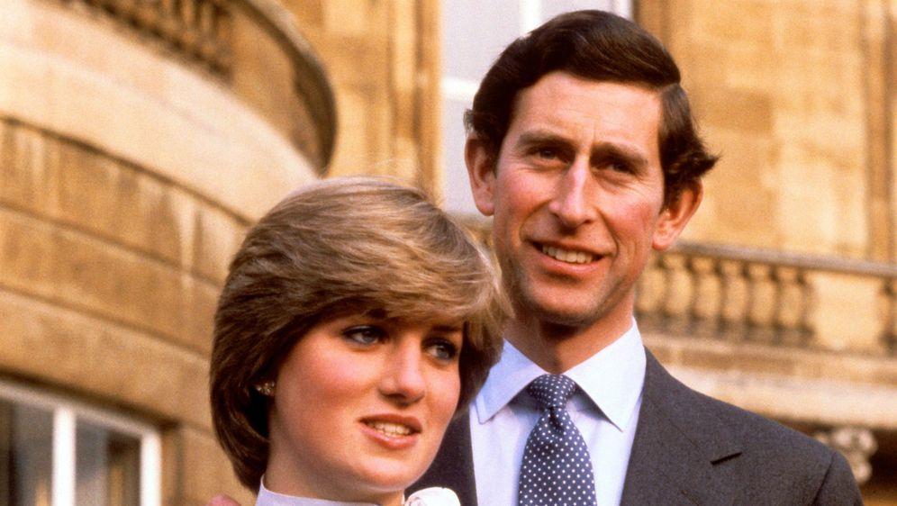 Na službenim portretima princ Charles je uvijek bio viši od Diane