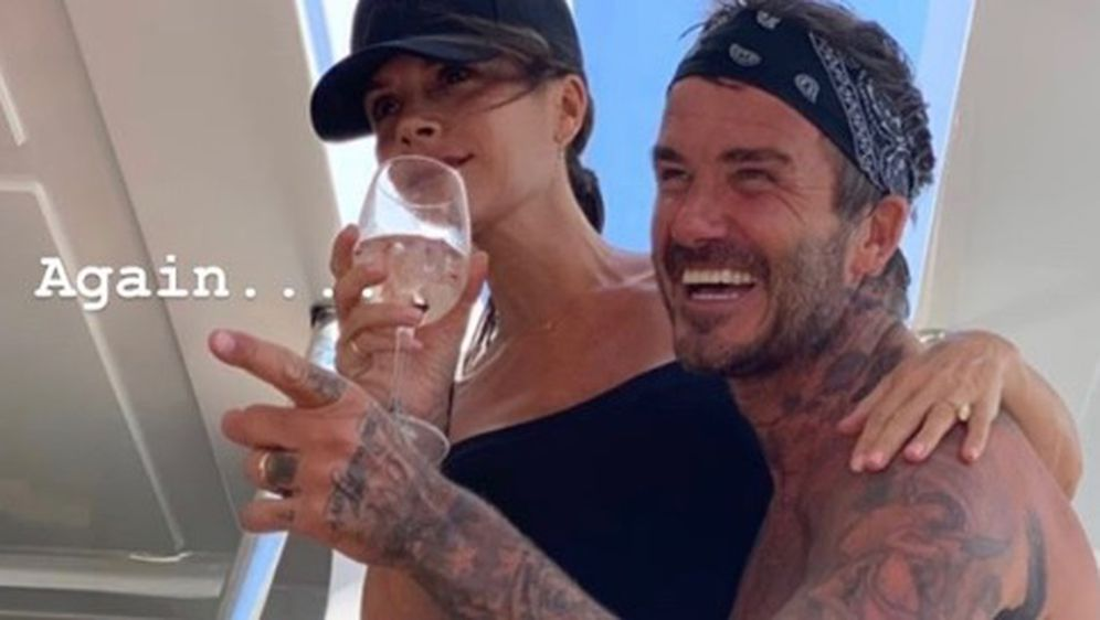 David i Victoria Beckham (Foto: Instagram)