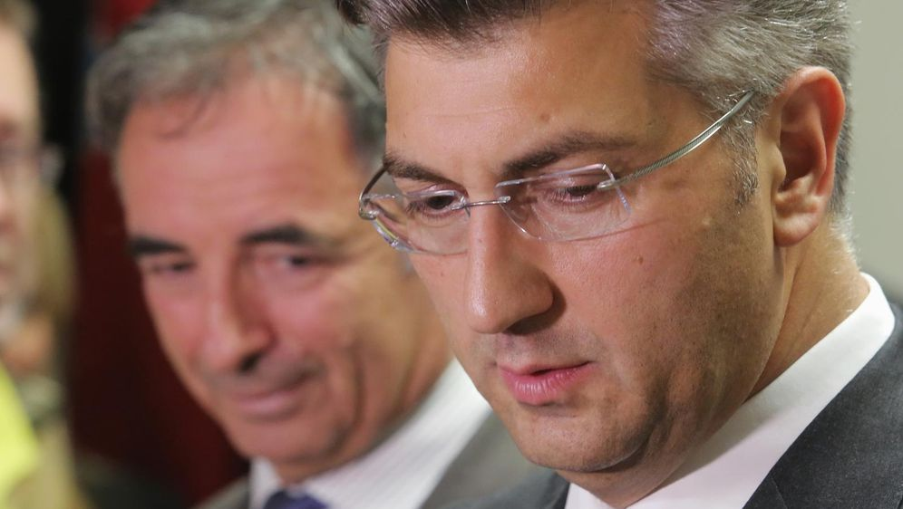 Andrej Plenković i Milorad Pupovac (Foto: Tomislav Miletic/PIXSELL)