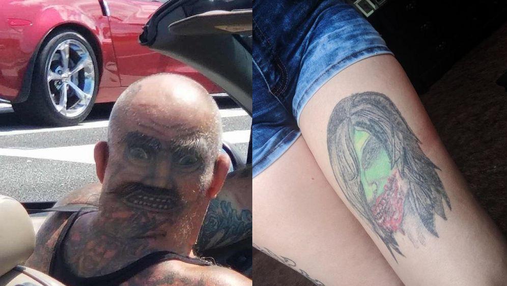 Bizarne tetovaže (Foto: thechive.com)