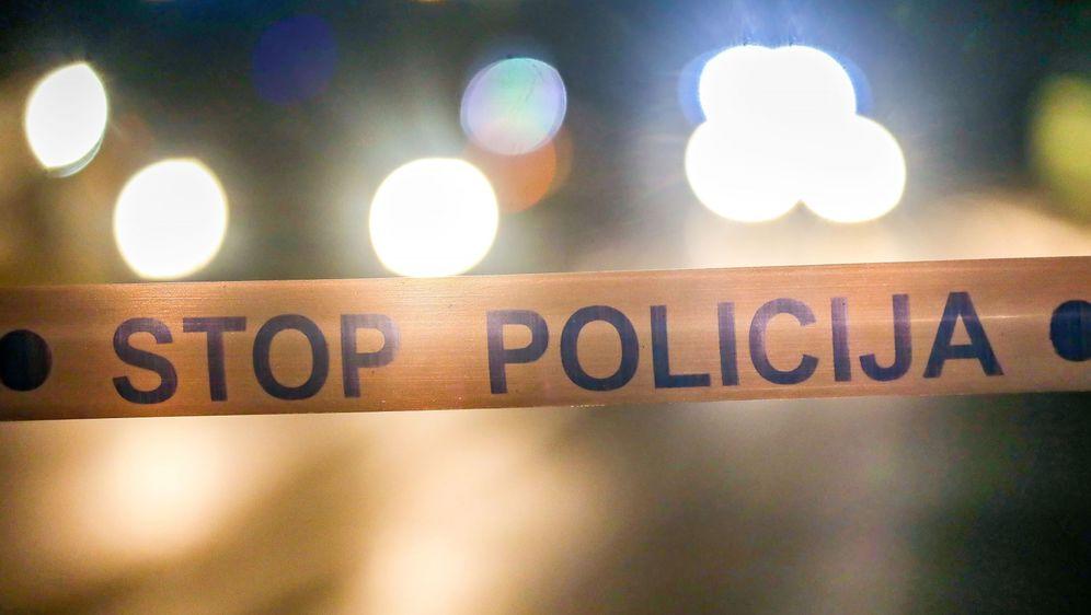Policijski očevid nakon prometne nesreće