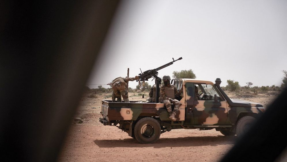 Malijski vojnici, ilustracija