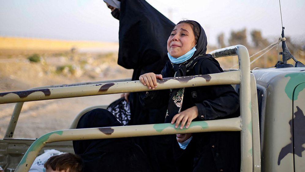 Spašavanje ljudi iz Afganistana, ilustracija