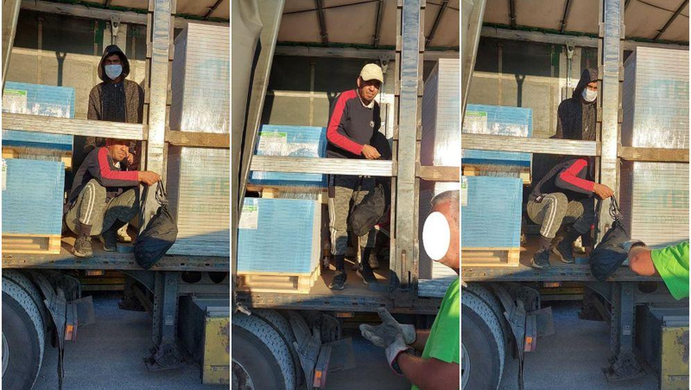 U kamionu s građevinskim materijalom pronađeni migranti - 1