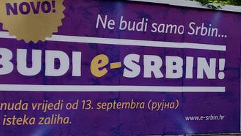 Osvanuli plakati \'\'Budi e-Srbin\'\'