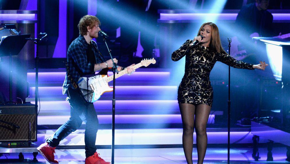 Beyonce i Ed Sheeran (Foto: Getty)