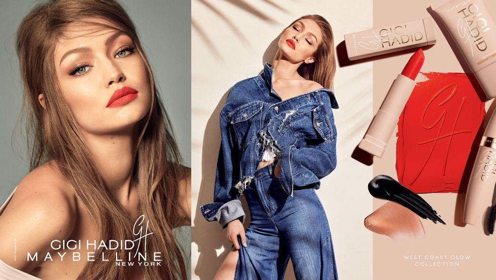 Gigi Hadid make-up linija za Maybelline New York, kolekcija 'West Coast'