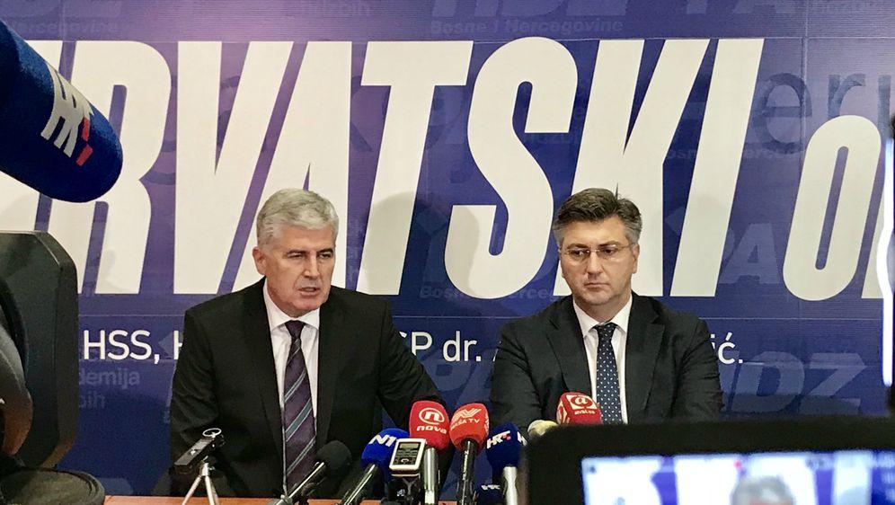 Konferencija za medije u Mostaru (Foto: Vlada/Twitter)