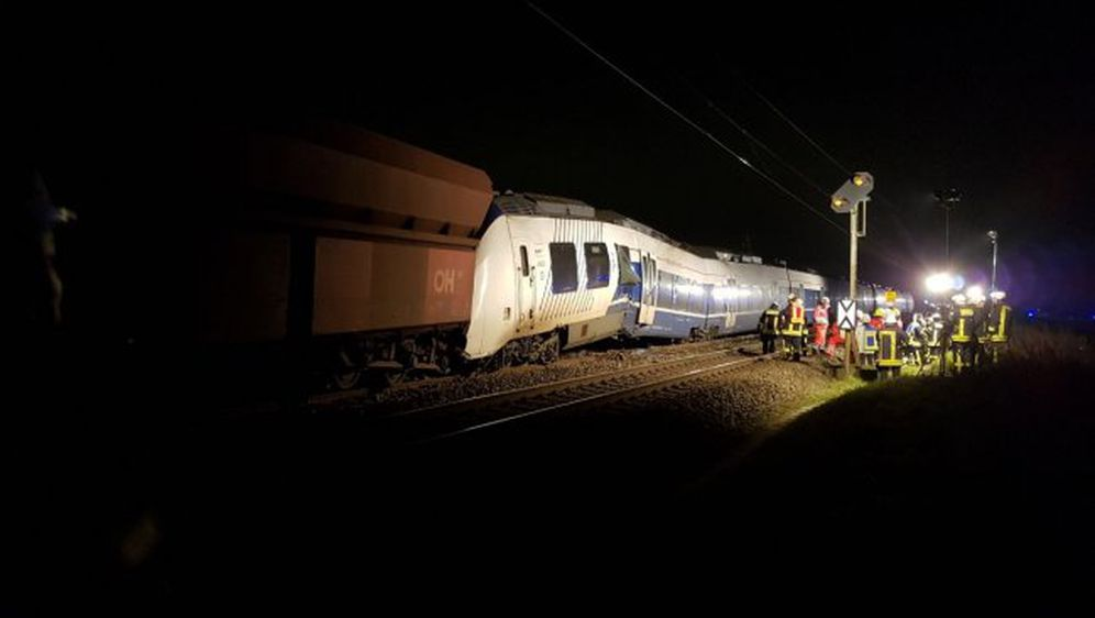 Sudar vlakova u Njemačkoj (Foto: feuerwehr-meerbusch.de)