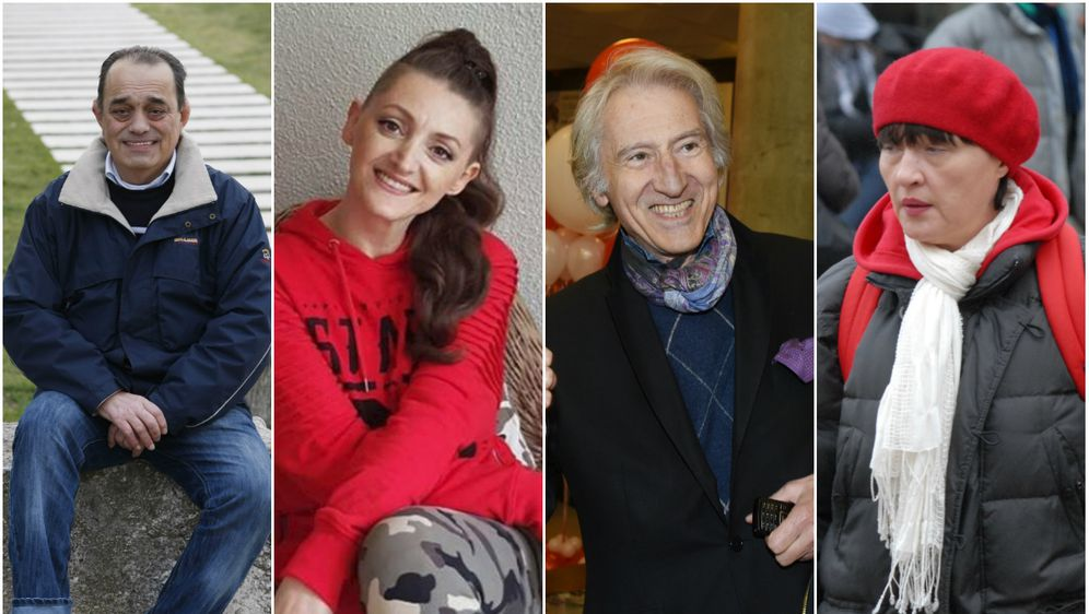 Mirko Miočić, Donna Ares, Ljubiša Samardžić i Mirjana Rogina (Foto: Pixsell, Instagram)