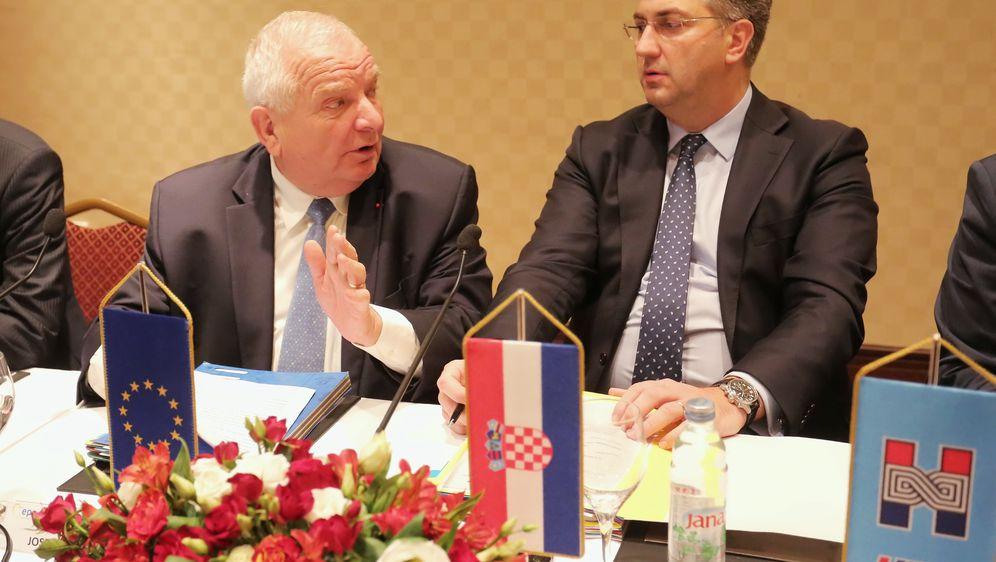 Joseph Daul i Andrej Plenković (Foto: Tomislav Miletic/PIXSELL)