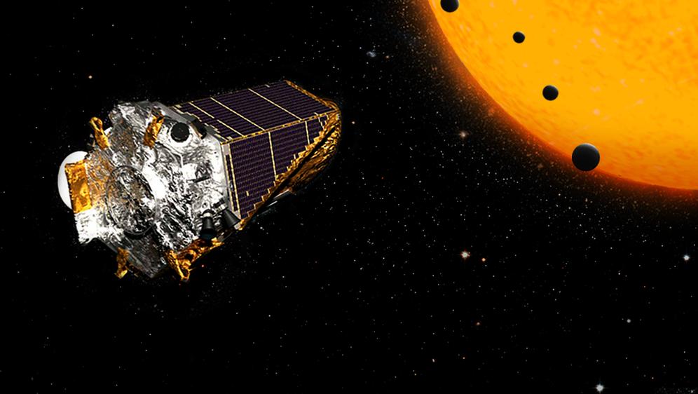 Teleskop Kepler (Foto: NASA/Ames Research Center/Wendy Stenzel)