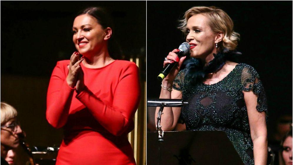 Nina i Vanna na koncertu Zagrebačke filharmonije i ansambla Husar & Tomčić - 1