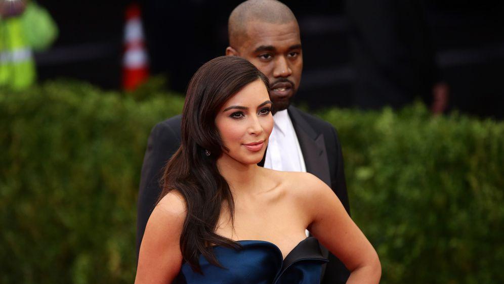 Kim Kardashian i Kanye West (Foto: Getty)